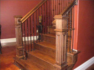 Wiegmann Woodworking & Fireplaces Carries Both Wood & Wrought Iron Stair Parts